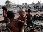 UN: Rohingya Muslim babies are slaughtered with knives.