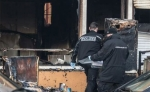 Extremists burn a mosque in Berlin
