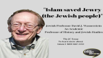 What did the Muslims do for the Jews?